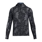 Under Armour - Outrun The Storm Hommes veste de course (noir)