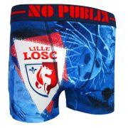 No Publik - Boxer Microfibre Enfant Losc Blue Goal