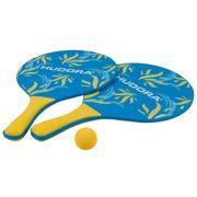 Hudora Set De Beachball - Set Ballon De Plage - Bleu