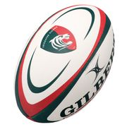 Mini ballon de rugby Gilbert Leicester (taille 1)