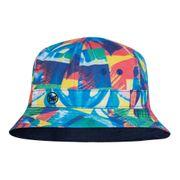 Bonnet Buff Bucket Hat Spiros Multi bleu multicolore enfant