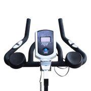 Vélo d'appartement d'exercice professionnel écran de contrôle multifonction LCD noir 70