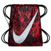 Sac de Gym Nike Graphic Rouge Swoosh Blanc