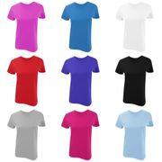 Gildan - T-shirt en coton - Femme