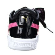Basket Fille Puma Basket Heart Stars Inf 367822 - 02 Noir/Rose