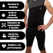 Short de Sudation et de Sport Homme Veofit