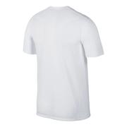 T-shirt Nike Breathe Dri-Fit manche courte blanc noir