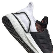 Chaussures adidas Ultraboost 19 noir blanc orange