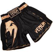 Short de boxe Thaï Venum Giant Noir et doré-XL--XL-NOIR--------------NOIR-XL