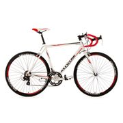 Vélo de course alu 28'' Euphoria blanc TC 55 cm KS Cycling