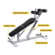 Banc abdominal ajustable Pro clubline Body-Solid