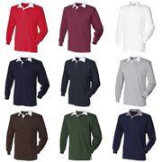 Front Row - T-shirt de rugby à manches longues en coton - Homme