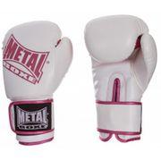 Gants entrainement SUP Blanc Métal Boxe Taille - 8oz