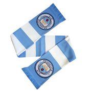 Manchester City FC - Écharpe de foot rayée officielle