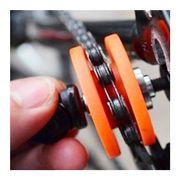 Repose chaîne pour le transport du vélo
