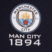 Manchester City FC officiel - Pull zippé à capuche - polaire - garçon