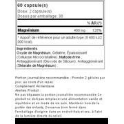 Magnésium Professionnel 60 gélules - naturel