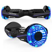 Hoverboard Colorway CX911 - Bluetooth + APP - 6.5 Pouces Noir, Gyropode Overboard Smart Scooter certifié