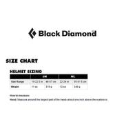 Casque Black Diamond Half Dome bleu marine femme