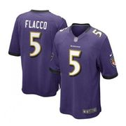 Maillot NFL Joe Flacco Baltimore Ravens Nike Game Team pour junior Violet taille - XL (165-175cm)