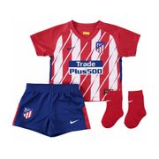 2017-2018 Atletico Madrid domicile Nike Baby Kit