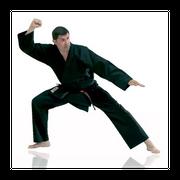 Kimono karaté noir Taille - 140cm