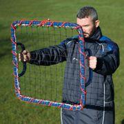 Precision Football Soccer Hand Held Training Volley Goal Shot Rebounder
