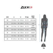 Combinaison néoprène Zone3 Aspire Limited Edition noir vert bleu femme