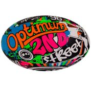 Optimum Street II Rugby League Union Ball Multicolour - 3