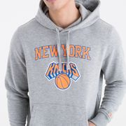 Sweat à capuche New Era avec logo de l'équipe New York Knicks