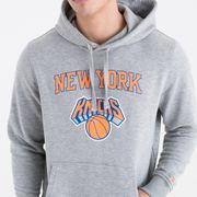 Sweat à capuche New Era avec logo de l'équipe New York Knicks