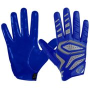 Gant de Football américain Cutters The Gamer 2.0 bleu taille - S