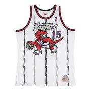 Maillot NBA swingman Vince Carter Toronto Raptors 1998-99 Hardwood Classics Mitchell & ness Blanc taille - XXL