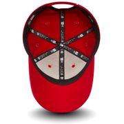 Casquette New Era 940 Basic Rouge Incurvée 9Forty