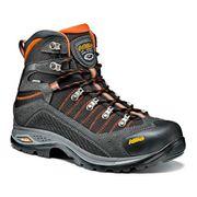 Chaussures de marche Asolo Drifter GV EVO GTX gris foncé orange