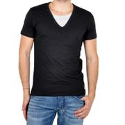 T-Shirt Japan Rags Grenat Noir