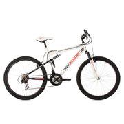 VTT tout suspendu 26'' Slyder blanc TC 51 cm KS Cycling