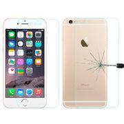 Housse coque de protection -Pour l'iPhone 6 et 6s Diamant Incrusté d'Électrodéposition de Protection du Miroir de Cas de Couverture avec Caché support de