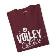 T-shirt femme Le volley c'est la vie