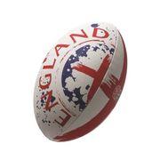 BALLON DE RUGBY  Ballon de rugby FLAG SUPPORTER - Angleterre - Taille 5