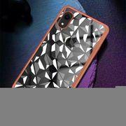 Coque housse iphone xr- Miroir Magique de la Série PC Antichoc + Verre de Protection pour l'iPhone XR (Argent)