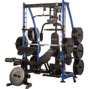 Gorilla Sports - MAXXUS Multipresse 8.1 Smith machine avec banc de musculation