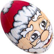 Ballon de rugby Gilbert Père Noël (taille 5)