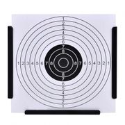 Cibles de tir Stylé Support de 14 cm avec 100 cibles papier