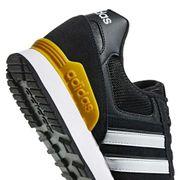 Chaussures adidas neo 10K noir blanc jaune