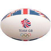 Ballon de rugby Midi Gilbert Team GB (taille 2)