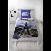Housse de couette Star Wars Flanelle 100% coton 140x 200 cm - unique bleu