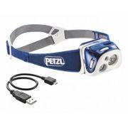 Lampe frontale Reactik Petzl bleu