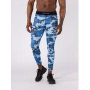 Legging Training Malon Camouflage Bleu