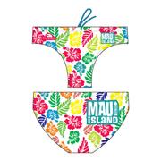 Maillot de bain de waterpolo Turbo Island blanc